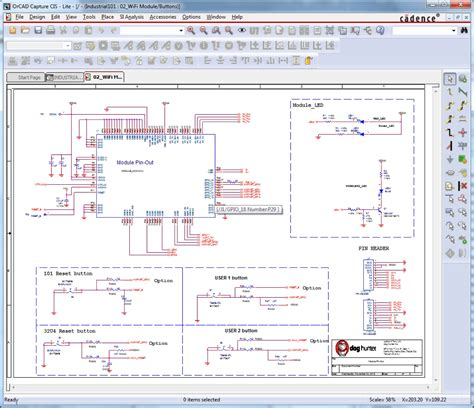 pcb design tutorial orcad view dsn schematics creating an encoded ip library