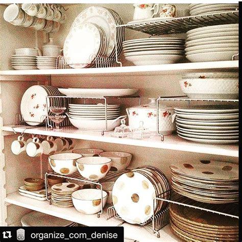 melhores ideias de organizador de pratos  pinterest organizando utensilios de cozinha