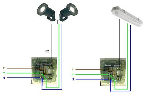 come portare corrente da una presa ad un interruttore collegamento tra presa da esterni a plafoniera con tubo al