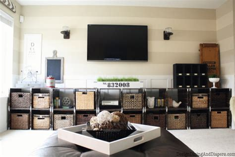 diy living room makeover family room makeover with rustic and industrial style