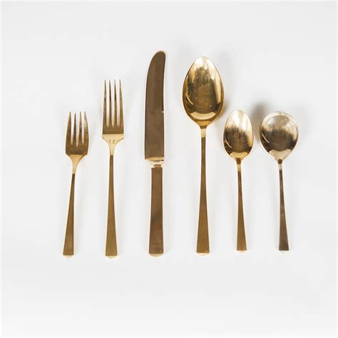 brass cutlery quot empress quot brass flatware by dirilyte at city issue atlanta