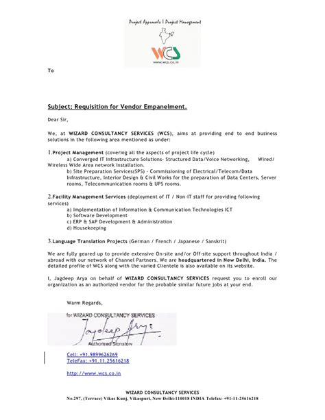 Business Introduction Letter Model company profile introduction letter format letter format