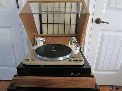 Garrard Type A Turntable garrard type a auto turntable with custom plinth and dust cover photo 724045 us audio mart