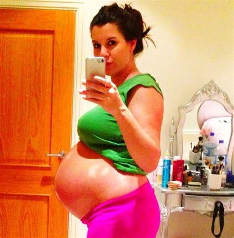 planned c section at 38 weeks pregnant imogen thomas tweets pic of her 38 week baby bump