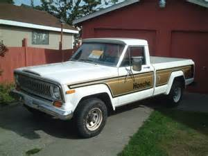 Jeep Truck Craigslist Found On Craigslist 1977 Jeep J 10 Honcho Pretend It S