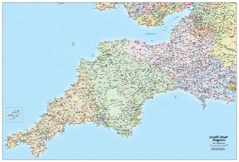 map of south west b south west regional map political map graphics