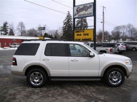 ford suv with 3rd row seating buy used 2010 ford explorer eddie bauer 4wd v6 auto suv