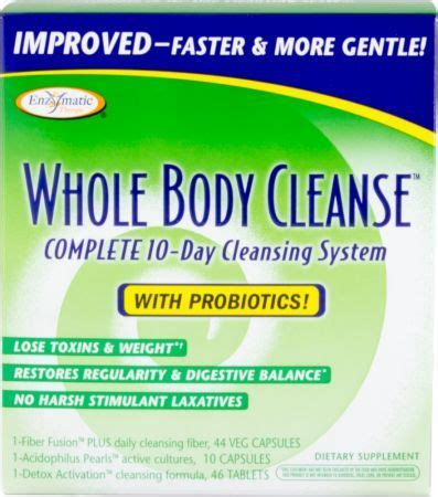 The S Own Detox System by Enzymatic Therapy Whole Cleanse Save At Priceplow