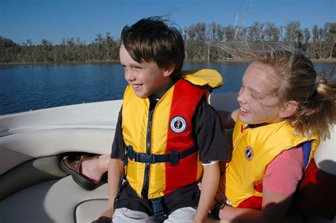 boat life jacket safety first for boating fun with the family jet ski