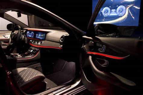 2017 mercedes e class interior lighting 2017 mercedes e class design preview gtspirit