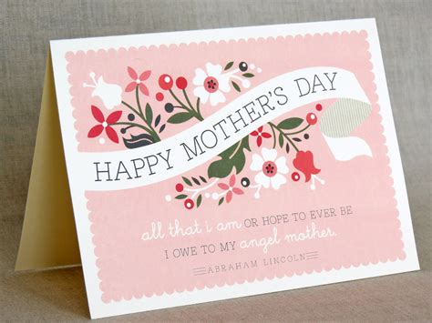 Mothers Day Card | designing a thoughtful and unique mother s day card