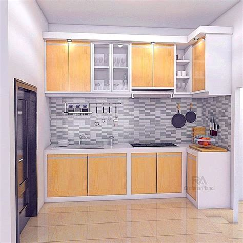 Model Kitchen Set Terbaru Model Lemari Dapur Aluminium Minimalis