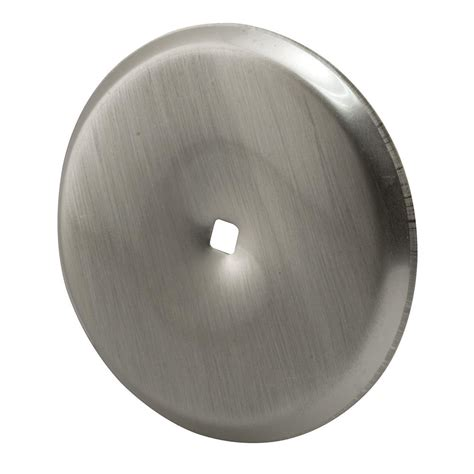 Prime Line 2 13 16 In Satin Nickel Cabinet Knob Back Cabinet Knobs With Backplate