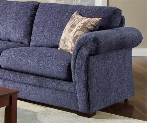 plush loveseat plush blue fabric casual modern living room sofa