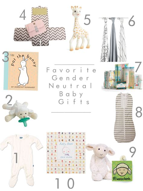 gender neutral gifts sarah tucker 10 favorite gender neutral baby gifts