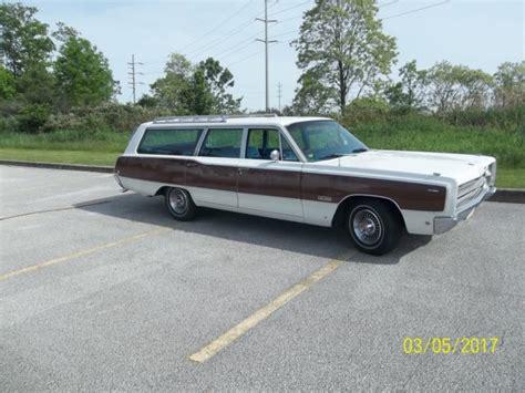 1968 plymouth sport suburban station wagon classic