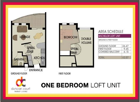1 bedroom loft one bedroom loft unit