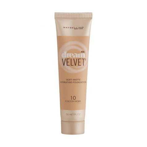 Maybelline Velvet maybelline velvet foundation 10 porcelain ivory 30