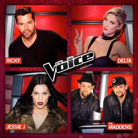 the voice australia jessie j delta goodrem and benji the voice australia jessie j delta goodrem and benji
