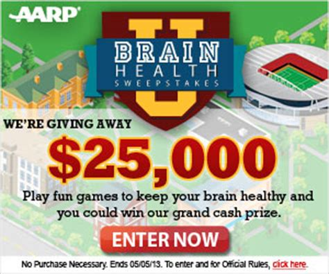 Health Sweepstakes - enter to win 25 000 from aarp mommy s money saving obsession