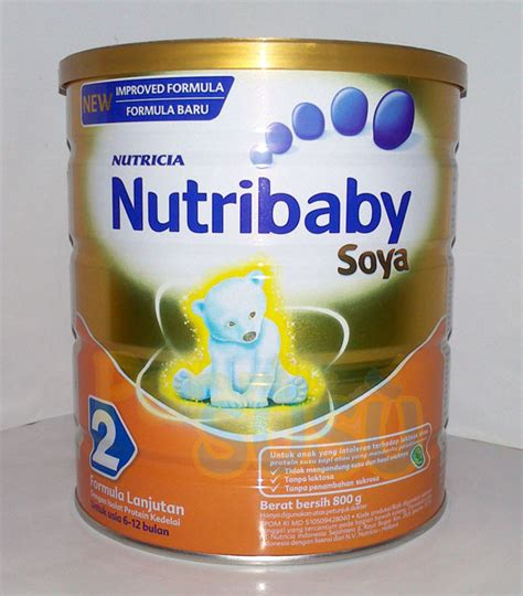 Nutribaby Royal Soya 2 nutribaby soya 2 800g pabrik detil toko