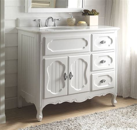 Cottage Bathroom Vanities by 42 Benton Collection Cottage Style White