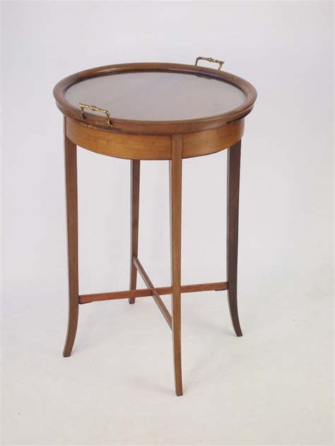 antique butlers tray table antique edwardian mahogany butlers tray top table