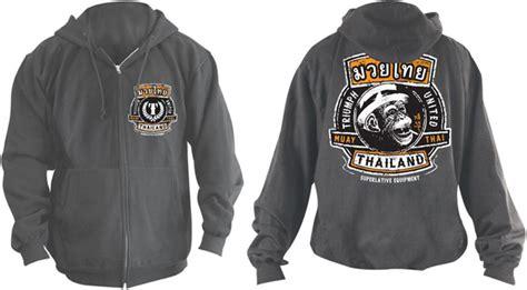 Hoodie Triump United Jiu Jitsu triumph united monkey hoodie charcoal