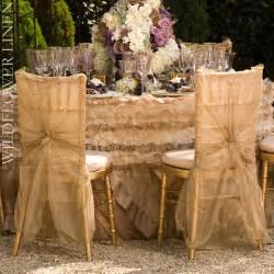 wedding linen wedding reception decor inspiration pretty wedding chairs wildflower linens ivory chagne