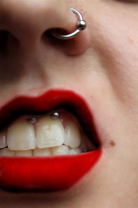 Say It With A Smiley With Emoticon Jewellery by Nose And Smiley Piercing Piercings Nose