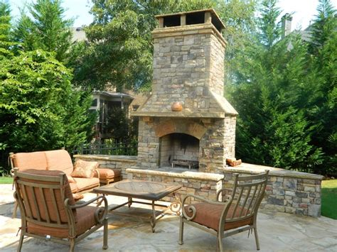 outdoor furniture roswell ga tuscan fireplace in roswell ledgestone overmantel sandstone mantel by emb pool renovations