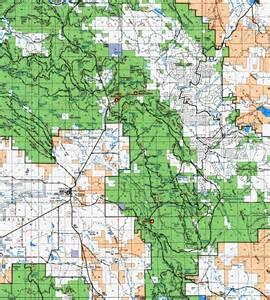 oregon forest service road maps clip10 map modoc california usa mappery