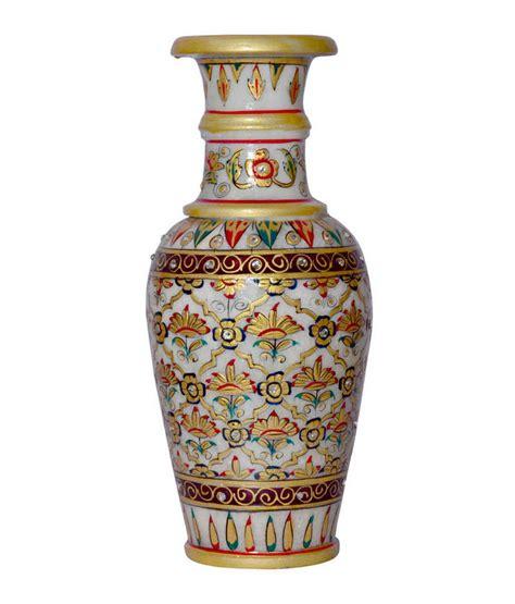 buy marble flower vase