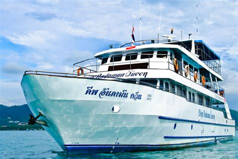 phoenix boats phuket diving the similan island and richelieu with liveaboard