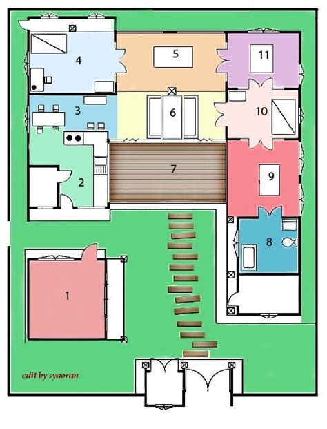 traditional korean house plans 24 best floor plans images on pinterest korean traditional traditional house and