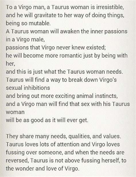 taurus man virgo woman wattpad virgo taurus taurus taurus virgo and taurus