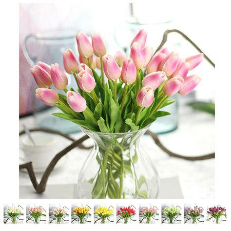 Hiasan Bunga Tulip Flower Dekorasi buy grosir plastik tulip from china plastik tulip penjual aliexpress alibaba