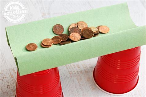 How To Make A Paper Bridge - build a bridge testing bridge design science activity