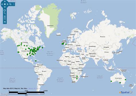 world map with ireland world map ireland