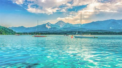 see a about a villach faaker see ossiacher see area holidays in carinthia