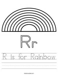 r is for rainbow worksheet twisty noodle