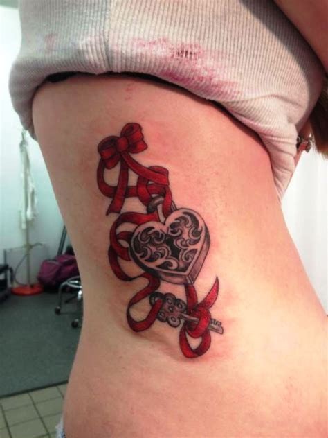 key tattoo girl 25 awesome lock and key tattoo designs and ideas for you