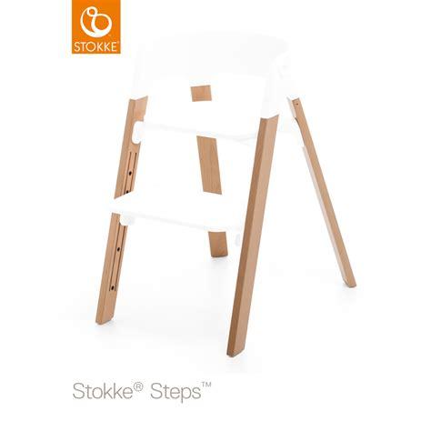 Pied Pour Chaise by Pieds Pour La Chaise Haute Steps H 234 Tre Naturel De Stokke