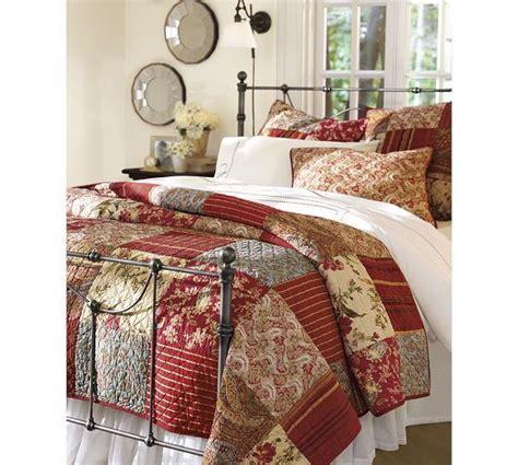 patchwork quilt sham
