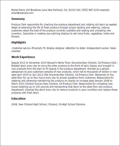 stock clerk description for resume resume ideas