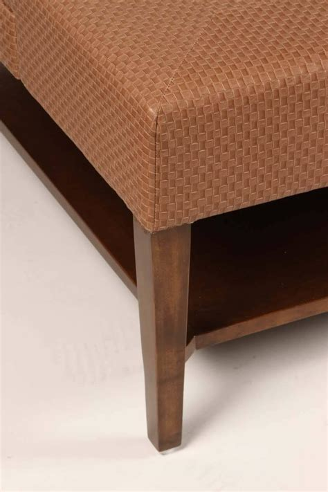 Upholstered Coffee Tables Large Scale Upholstered Coffee Table For Sale At 1stdibs