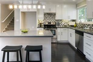 Kitchen Triangle With Island what should you do to your l shape kitchen home