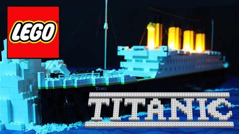 film titanic lego paderborner sch 252 ler drehen titanic film aus lego