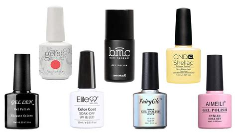 10 Prettiest Nail Polishes by Top 10 Best Gel Nail Brands Of 2018 Heavy