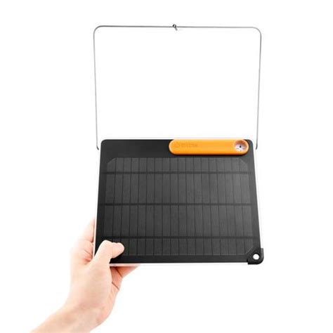 Solar Charger Pack Slim 5w Cocok Untuk Power Bankhp Gps Psp biolite solarpanel 5 designed to maximize your charge